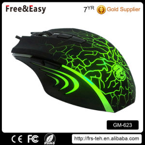 Computer PC Backlight USB Wired 6D Gamer Mouse pictures & photos