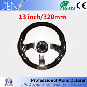 320mm Carbon Fiber Car Vehicle Racing Steering Wheel pictures & photos