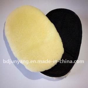 Sheepskin Fur Wash Pad Wash Mitt Wool Wheel Wash Mitt pictures & photos