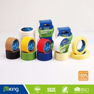 General Purpose Easy Tearing Colored Masking Crepe Paper Tape pictures & photos