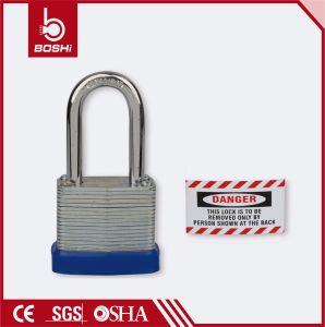 Bd-J42 27mm Shackle Length Padlock Laminated Steel Padlock pictures & photos