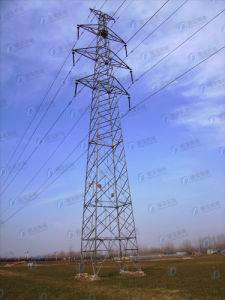 Hot-DIP Galvanized Line Transmission Tower pictures & photos