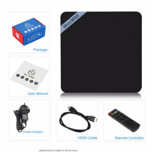 2016 Media Player 1chip Mini M8sii Android 6.0 2GB RAM Mini M8s II Android TV Box pictures & photos