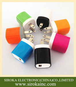AC 5V 1A USB Cell Phone Home Travel Charger pictures & photos