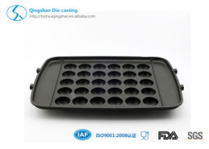 Die Casting Non-Stick Comal & Griddle Waffle Cake Pan pictures & photos