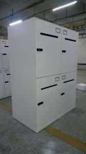 4 Doors Post-Office Box Cabinet/Mailbox Cabinet