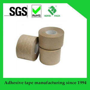Offer Printing Water Activated Reinforce Customized Kraft Paper Sealing Tape pictures & photos