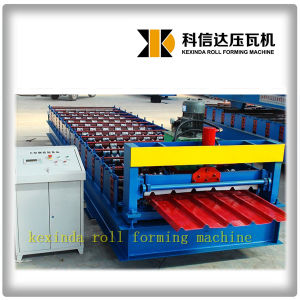 India Popular Kexinda 1000 Ibr Roof Panel Roll Forming Machine pictures & photos