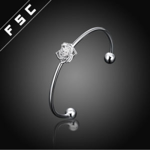 Hot Sell Charm Jewelry Silver Plated Fireworks Girl′s Bracelet pictures & photos