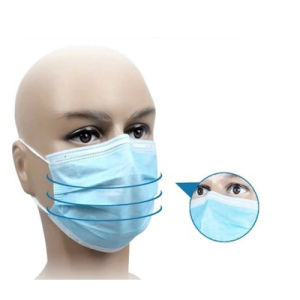 Nonwoven Face Mask with Tie, Disposable Surgical Mask pictures & photos