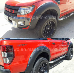 ABS Wheel Arch Fender Flares for Ford Ranger T6 2012-2014 pictures & photos