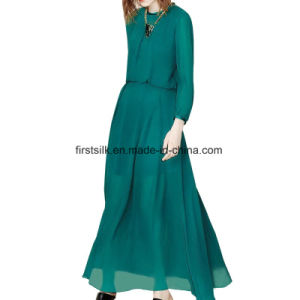 Silk Chiffon Dress New Fashion Dress for Lady pictures & photos