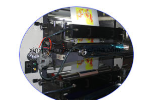 Easy Operating Steady Body 4 Color Flexographic Printing Machine pictures & photos