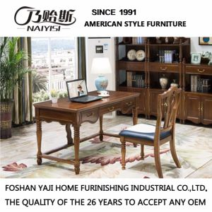 American Style Wooden Office Desk For Home Office Furniture (AS809)
