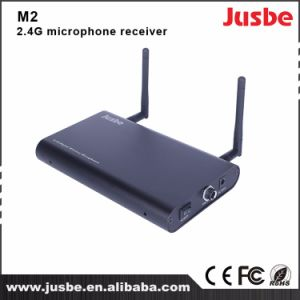 Professional Gfsk Wireless Microphone System Receiver for Teaching and Presentation M2 pictures & photos
