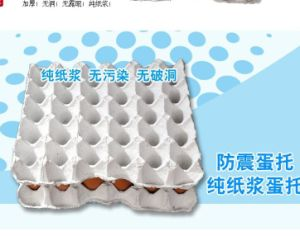 Egg Tray of Recycle Paper Moulded Pulp Shockproof pictures & photos