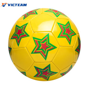 High Bouncing 1.8mm PVC Size Four Soccer Ball OEM pictures & photos