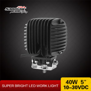 High Power 40watt 5 Inch LED Work Light pictures & photos