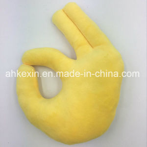 Custom Super Soft Plush Toy Hand Emoji Pillow pictures & photos
