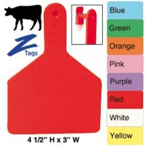 Animal Tracking Identification Zee Ear Tags pictures & photos