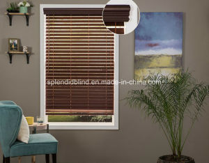 Basswood Windows Blinds Fashion Wood Windows Curtain Blinds pictures & photos