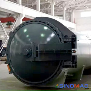 3000X8000mm Ce/PED Certified Composite Material Bonding Autoclave (SN-CGF3080) pictures & photos