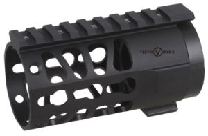 "Vector Optics Keymod 4"" Pistol Ar 15 Free Float Handguard Rail Mount System with Barrel Nut for Ar15/M4/M16 Pistol Gun Accessories pictures & photos"