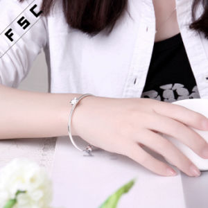 Fashion Eco-Friendly Economical Copper Plum Blossom Bracelet for Girl pictures & photos