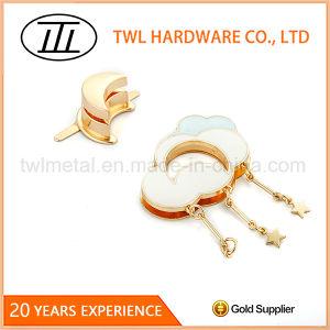 Exclusive Design Customized Lovely Handbag Lock Metal Turn Lock pictures & photos