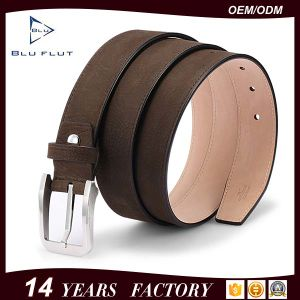 Men′s Leather Belt Genuine Cow Leather Nickle Free Buckle Belts pictures & photos