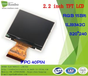 2.2 Inch 320*240 RGB TFT LCD Module, Ili9341V, 40pin with Option Touch Panel pictures & photos