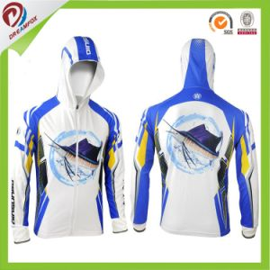 New Style Dry Fit Comfortable Fishing Hockey Hoodie for Fishing Men pictures & photos