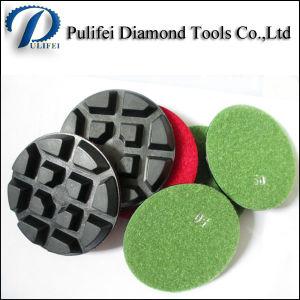 "4""/100 Diamond Resin Dry Concrete Polishing Pad pictures & photos"