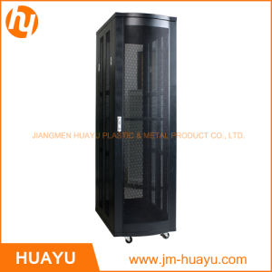 Newest 19 Inch Server Rack and Oraganize Box with Double Vented Rear Door Manufacturer pictures & photos