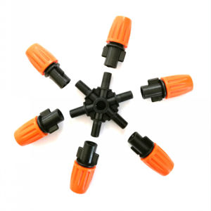 New Style Six Outlet Fogger for Cooling Garden Irrigation pictures & photos