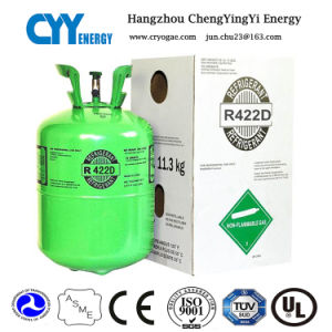 High Purity Mixed Refrigerant Gas of R422D (R134A, R404A, R410A) pictures & photos