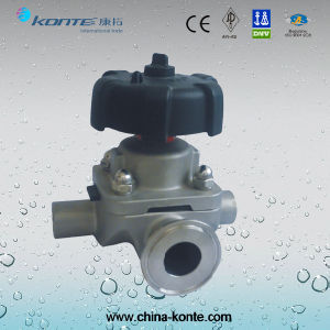 Manual 3 Way Diaphragm Valve Kt pictures & photos