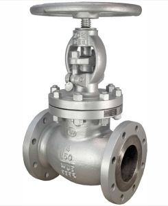 ANSI Standard Wcb Body Material Flanged End Globe Valve pictures & photos