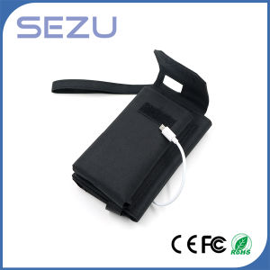 High Quality Long Working Time 5W Outdoor Portable Solar Energy Charger Folding Bag (Black) pictures & photos