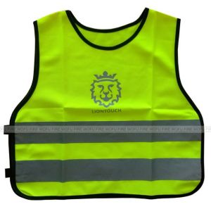 Polyester 120GSM knitting Safety Warning Vest Wk-8601 pictures & photos