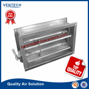 Ventilation System Rectangle Steel Volume Control Damper pictures & photos