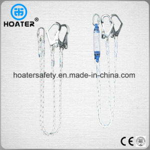 Fall Protect Safety Harness Two Hooks Lanyard Made in China pictures & photos