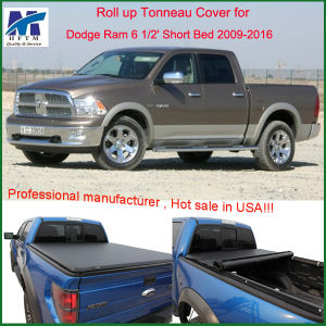 Top Quality Custom Roll-up Truck Tonneau Covers for Dodge RAM 6 1 2′ Short Bed 2009-2016 pictures & photos
