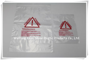 Custom Printed Zip Lock Plastic Bags pictures & photos