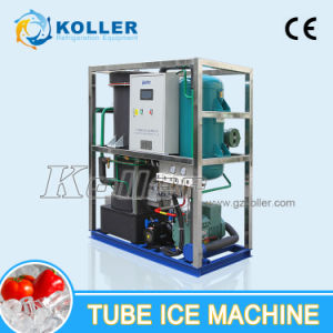 Koller Cylinder Ice Machine Ice Tube Machine 3tons/Day pictures & photos