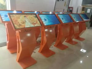 32 Inche Floor Standing LCD Displays with Touch Screen pictures & photos