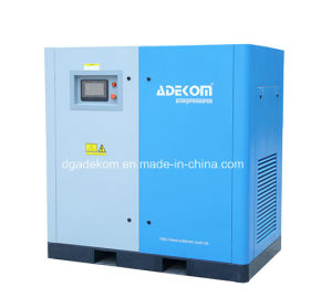 Electric Screw Oil Injected Rotary Oil Air Compressor (KC37-08) pictures & photos