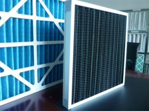 Primary Panel Activated Carbon Filter G3 G4 for Airport, Commercial Building pictures & photos