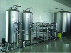 Mineral Water Drink Water Purifier RO Plant