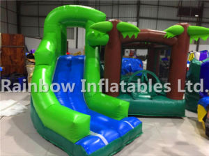 Amusement Inflatable Forest Themed Slide House/Inflatable Family Jumping Combo pictures & photos